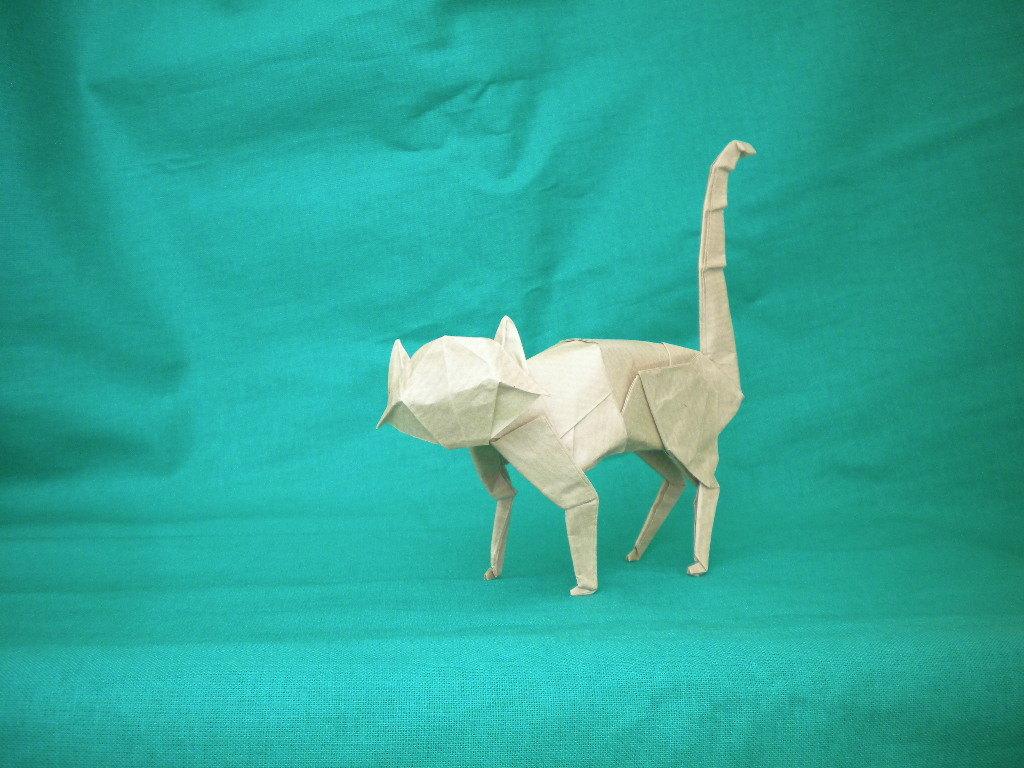 Обои Белка, Origami, бумага. Разное foto 10